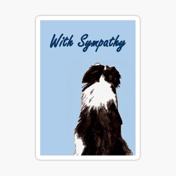 Got Your Back - Sympathy Card Sticker