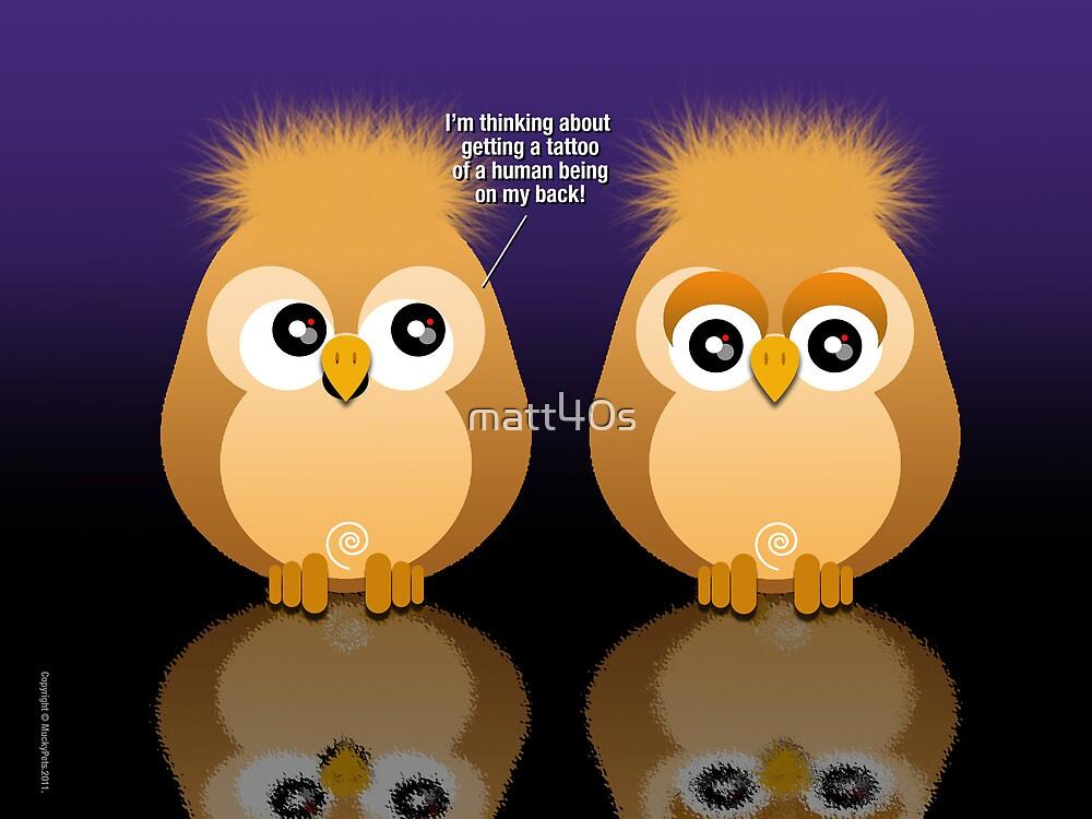 OWL TATTOO by matt40s