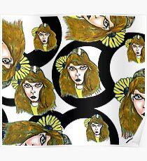 Pencil faces November 2011 Poster