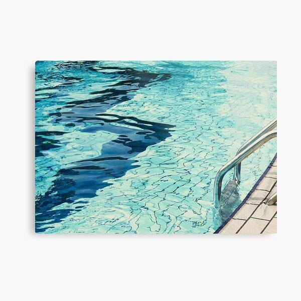 Summertime swimming Metal Print