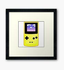 Yellow Gameboy Framed Print