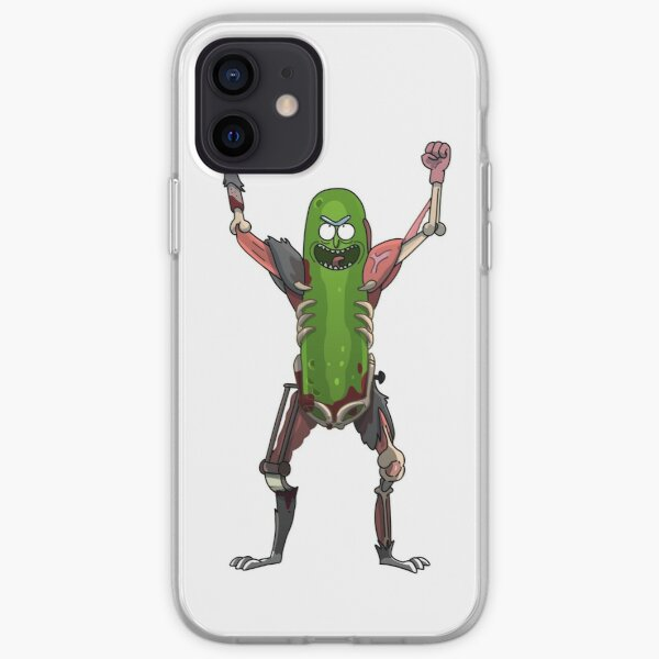 Pickle Rick! iPhone Soft Case