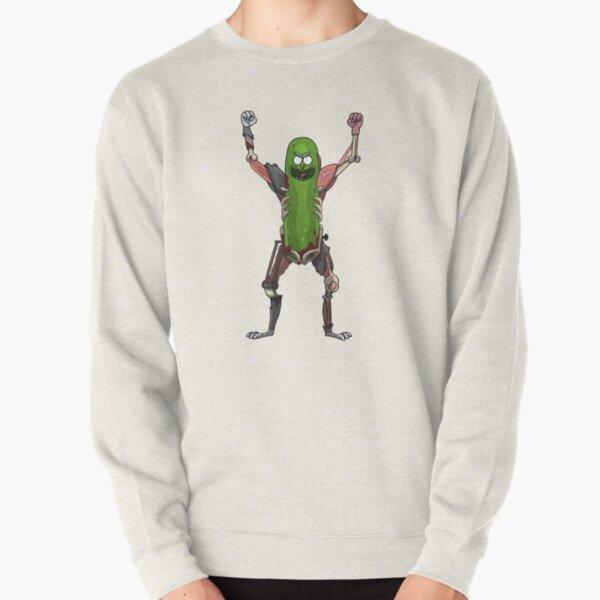 Pickle Rick! Pullover Sweatshirt