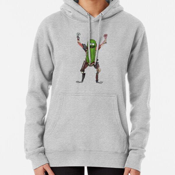 Pickle Rick! Pullover Hoodie