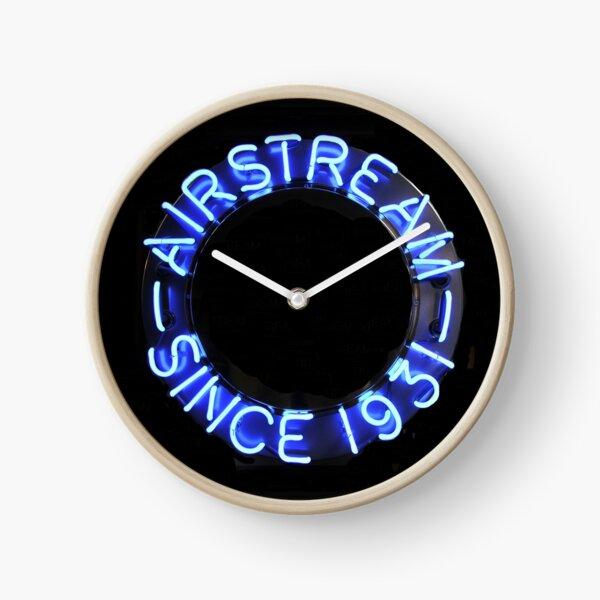 Airstream vintage neon sign Clock