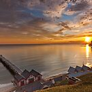 Saltbunn Bay Dawn by Michael Ridley