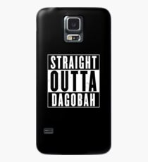 Straight Outta Dagobah Case/Skin for Samsung Galaxy
