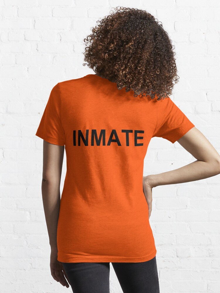 Alternate view of Inmate (Prison Shirt) Essential T-Shirt