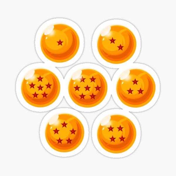 Dragon ball Z Crystal balls Sticker
