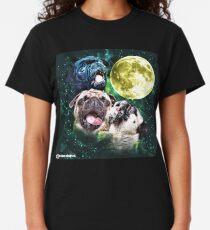 Howling Pug Classic T-Shirt