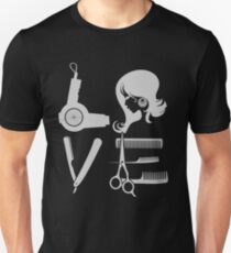 Love and Hair Unisex T-Shirt