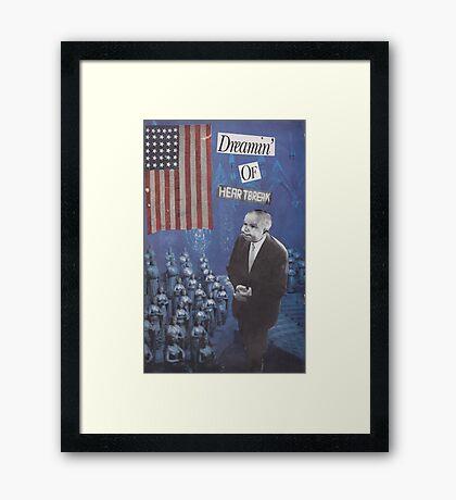 Amerika F#%K Yeah! Framed Print