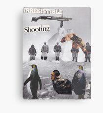 Irresistible Shooting  Metal Print