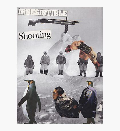 Irresistible Shooting  Photographic Print