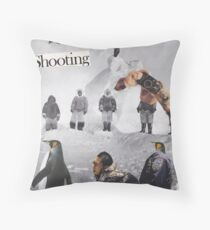 Irresistible Shooting  Throw Pillow