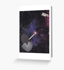 Smoking Space Greeting Card