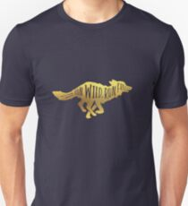 Run Wild. Run Free. [Gold] Unisex T-Shirt