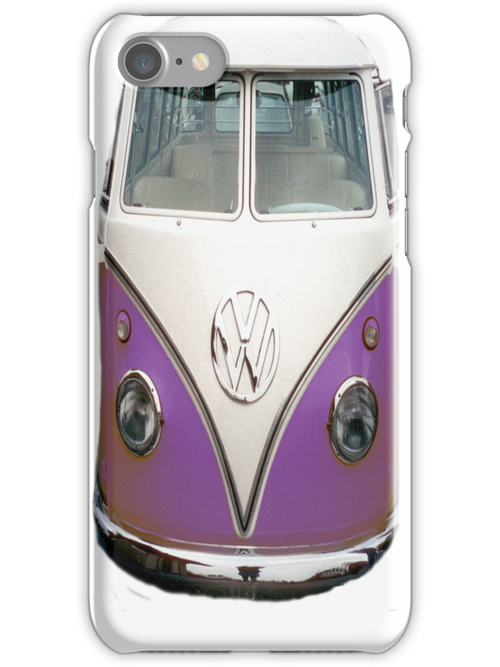 ON SALE!!!!!  VW purple iPhone case by andytechie