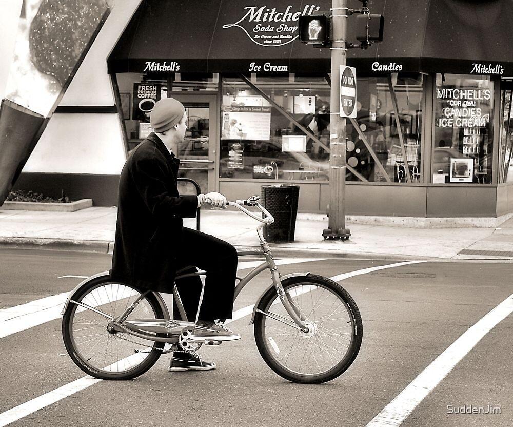 Crosswalk, Candy, Contemplation by SuddenJim