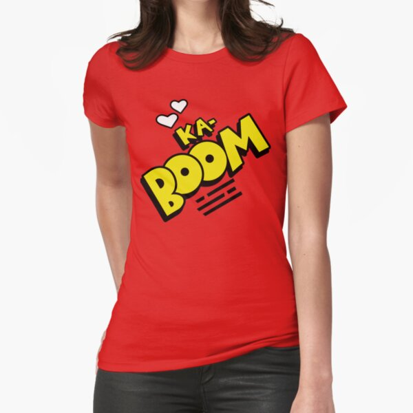 Ka-Boom Fitted T-Shirt