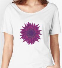 Purple flower Women's Relaxed Fit T-Shirt