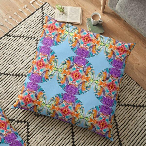 África inspired II Floor Pillow