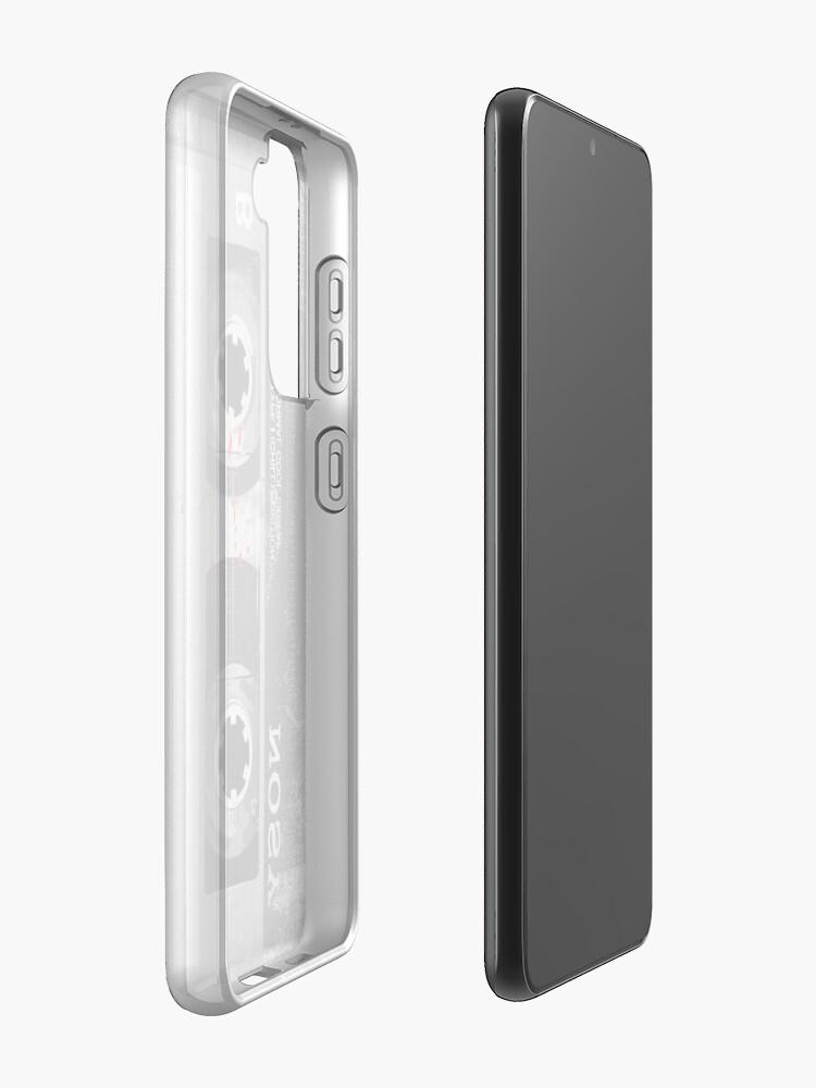 Alternate view of Grunge Cassette Tape (Vertical) Case & Skin for Samsung Galaxy