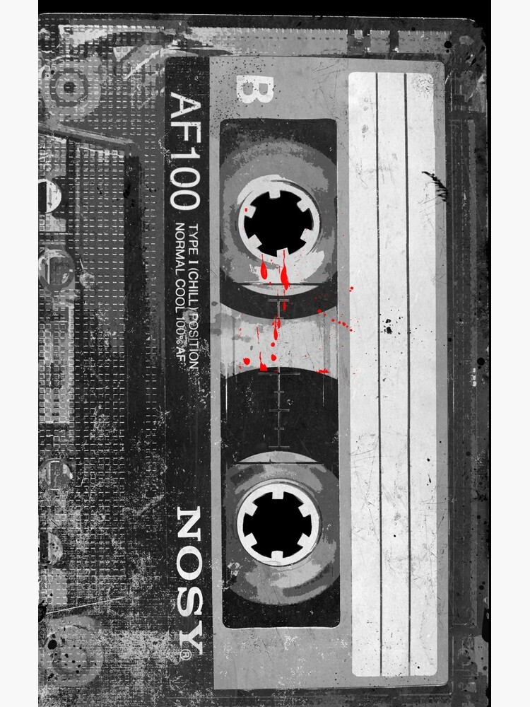 Grunge Cassette Tape (Vertical) by ce54r