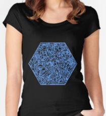 Blau Women's Fitted Scoop T-Shirt