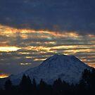 Sunrise on Mount Rainier by Kathy Yates