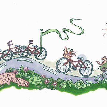 Wild and Free Bike by CeciMacaulay