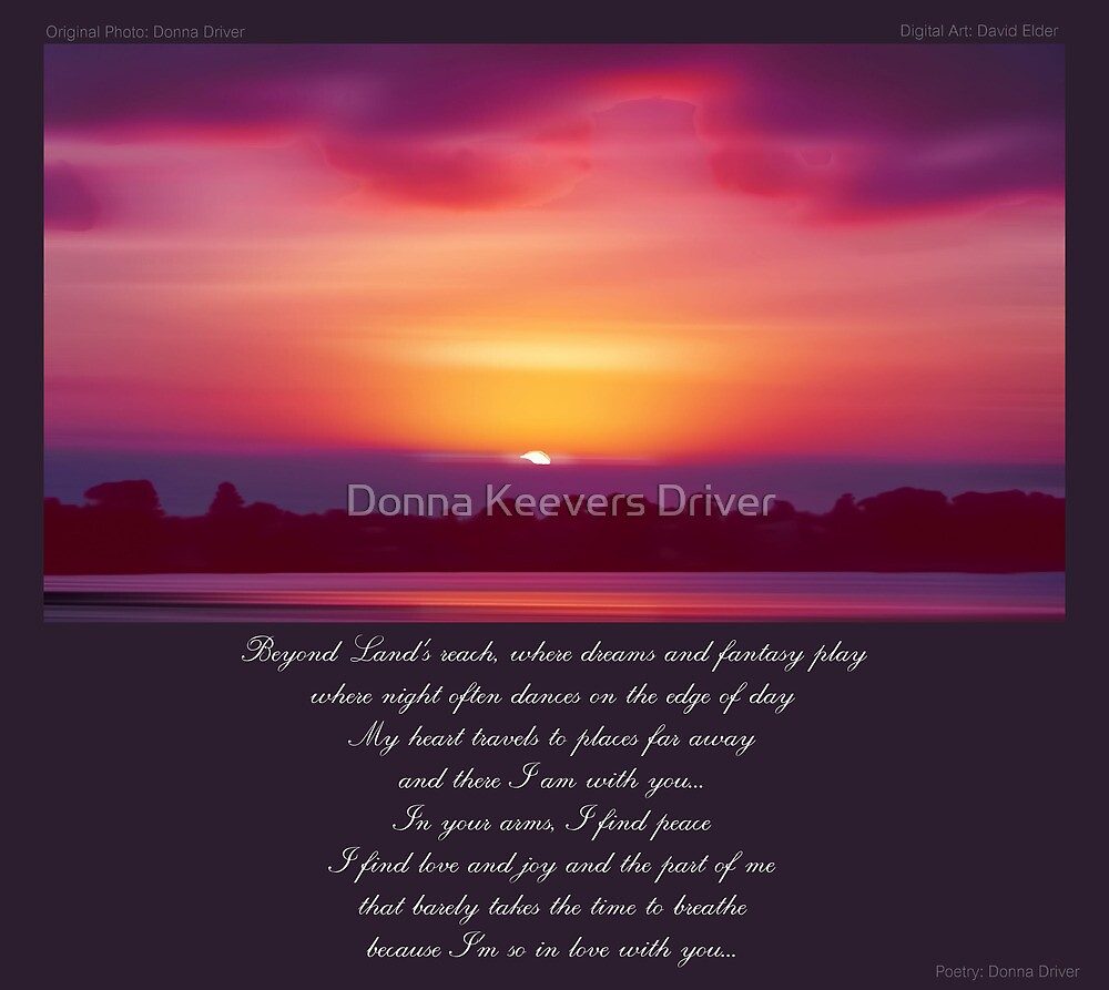 ~ Beyond Land's Reach ~ a collaboration with David Elder by Donna Keevers Driver