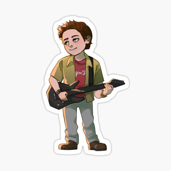 Oz (BtVS Season 2) Sticker