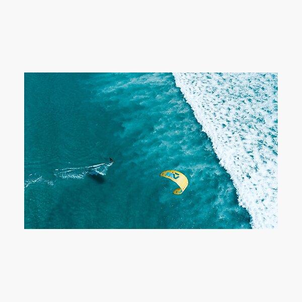 Kitesurf Print | Ocean Love | Waves Fotodruck