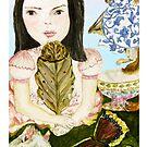 Tea With Butterfly by EllenCoffin