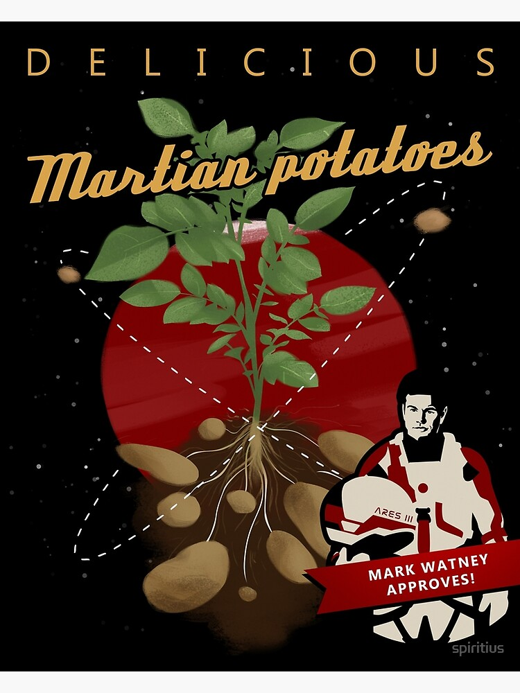 The Martian: potatoes by spiritius