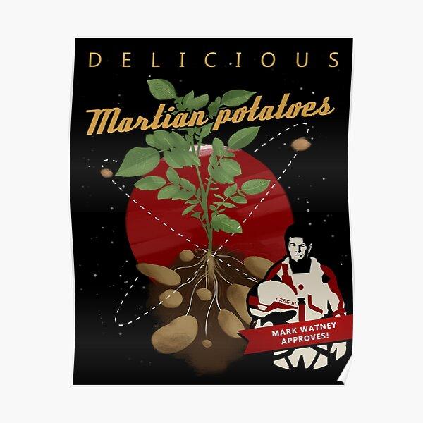 The Martian: potatoes Poster