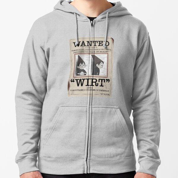 Pottsfields most Wirt-ed  Zipped Hoodie