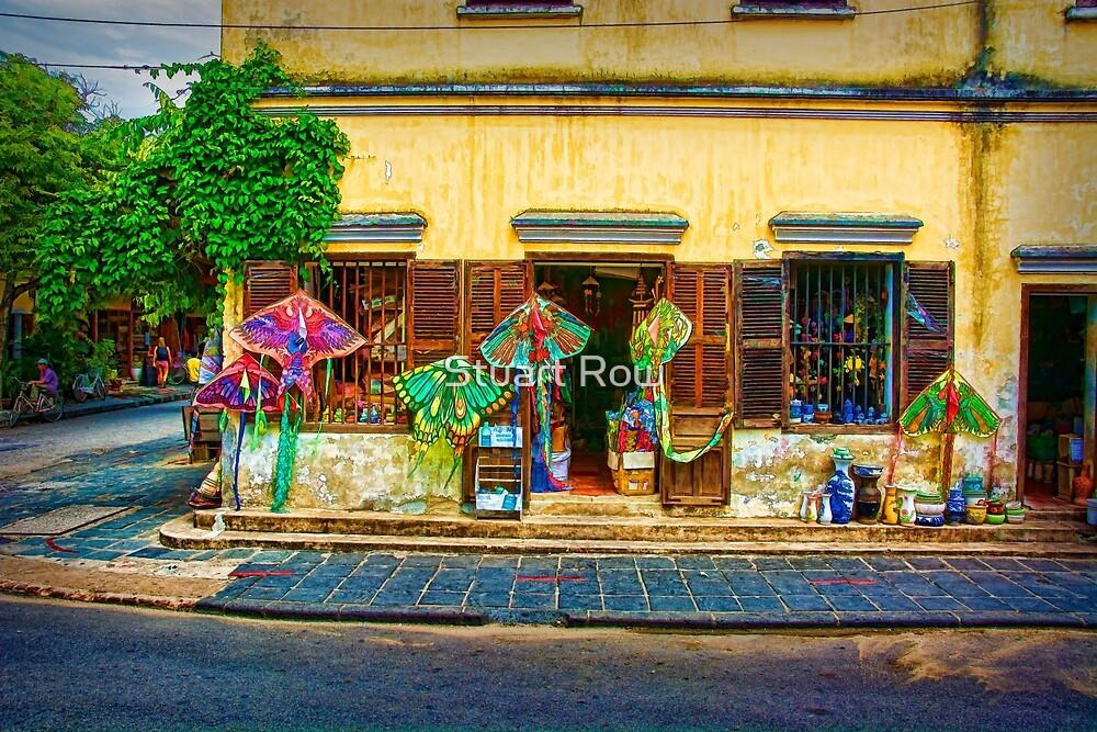 Hoi An Street Scene 2 by Stuart Row