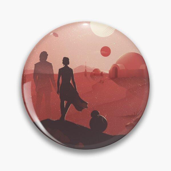 SW Tatooine Sunset Pin