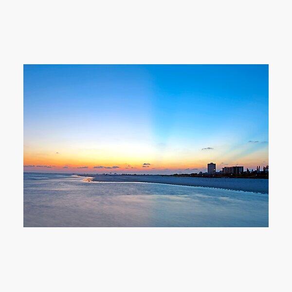 Siesta Key Sunset Photographic Print