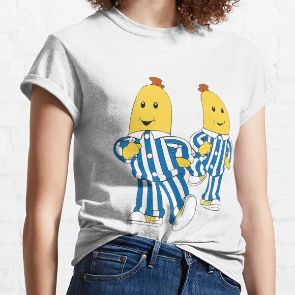 Silly Bananas Pyjamas - They Are Coming Down - Cute Australian Nostalgic Kids Gift - Classic Australia Classic T-Shirt