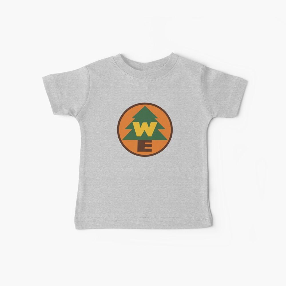 Logotipo de Wilderness Explorer Camiseta para bebés