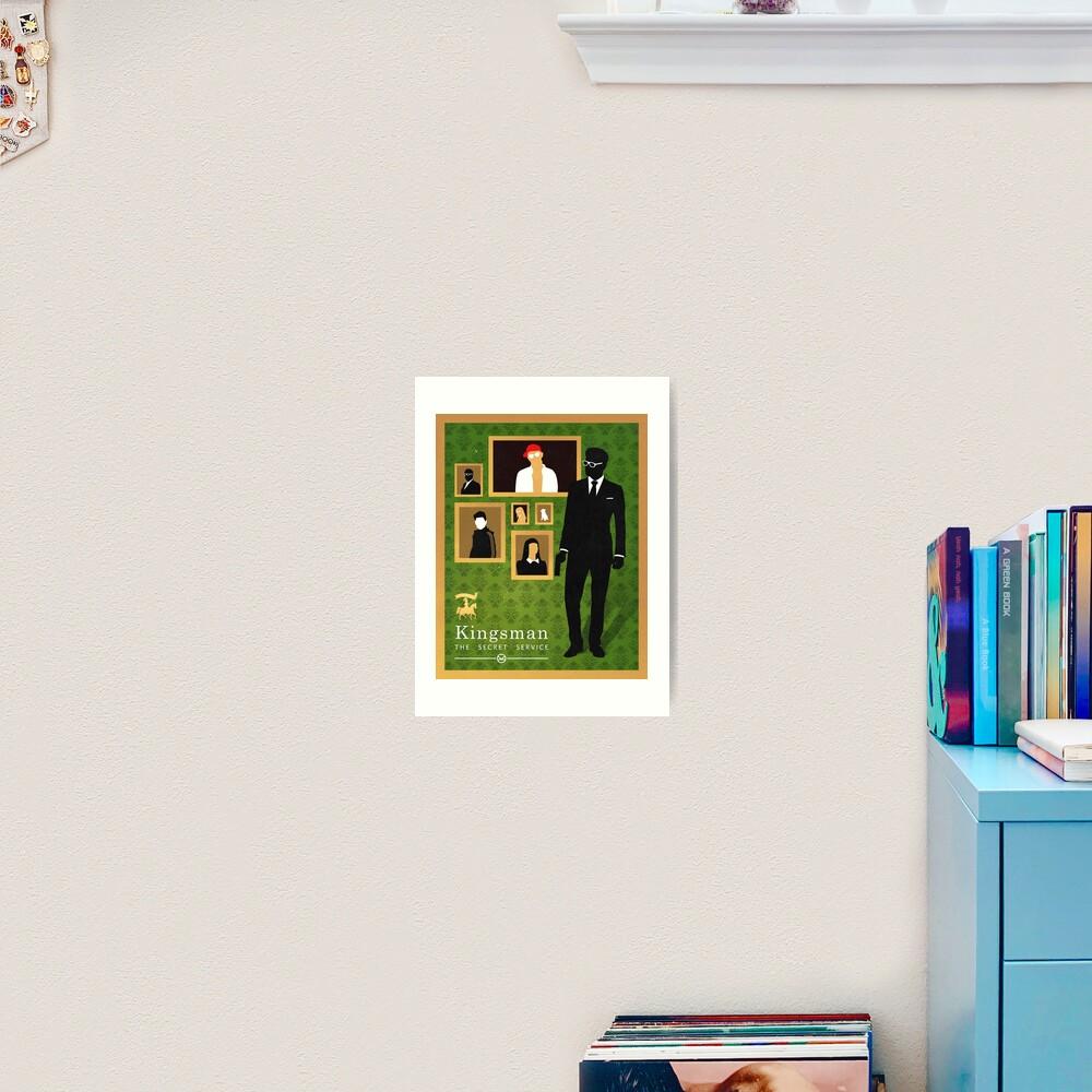 Kingsman: poster Art Print