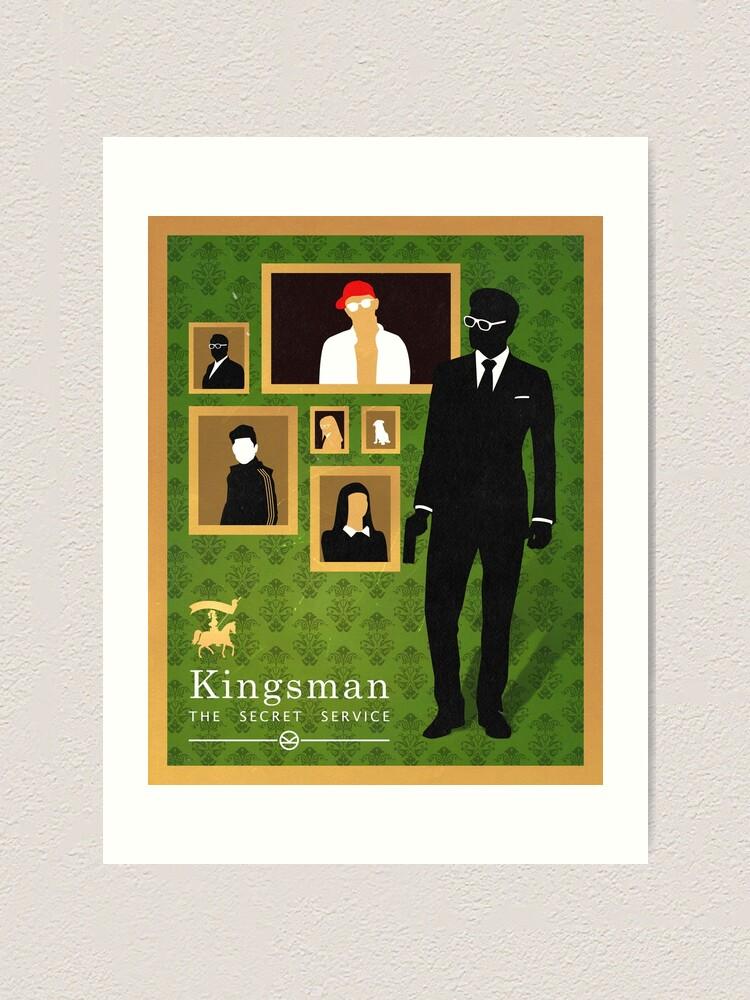 Alternate view of Kingsman: poster Art Print
