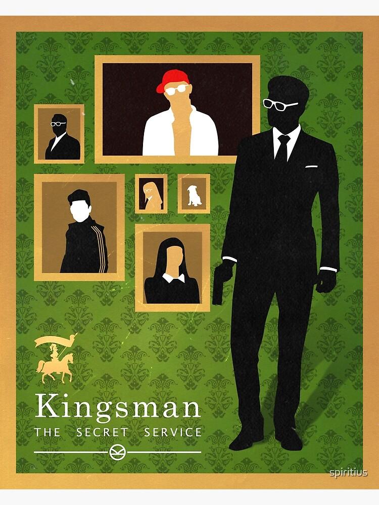 Kingsman: poster by spiritius