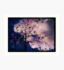 The Paisley Tree Art Print