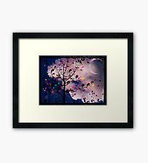 The Paisley Tree Framed Print