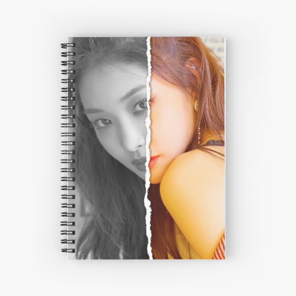 Chungha (Divided Photo) Spiral Notebook
