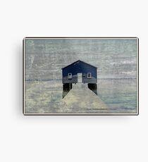 Crawley Boatshed Metal Print